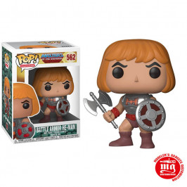 FUNKO POP MASTER OF THE UNIVERSE BATTLE ARMOR HE MAN