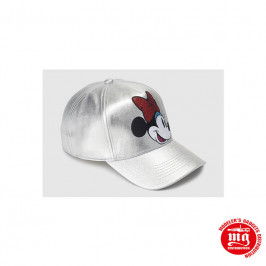 GORRA PLATEADA MINNIE MOUSE DISNEY