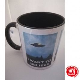 TAZA EXPEDIENTE X I WANT TO BELIEVE