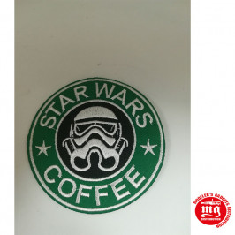 PARCHE ADHESIVO STAR WARS COFFEE