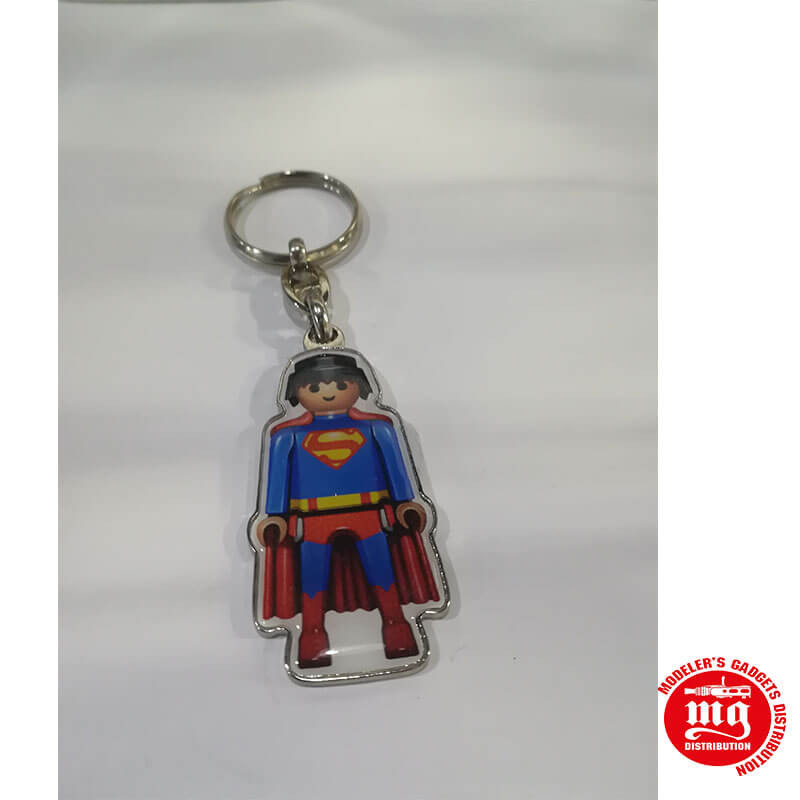 LLAVERO SUPERMAN PLAYMOBIL