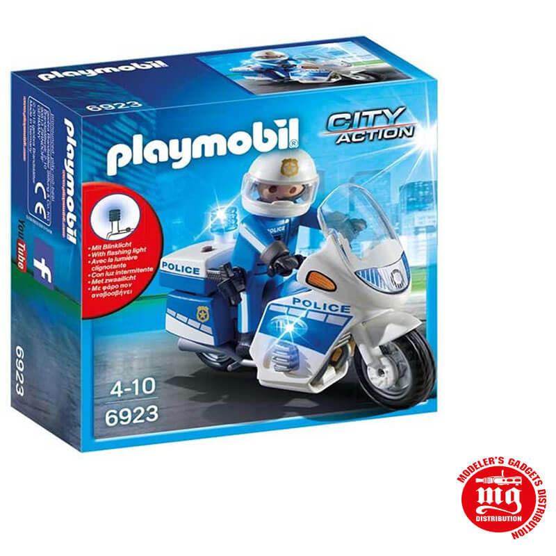MOTO DE POLICIA PLAYMOBIL PLAYMOBIL 6923