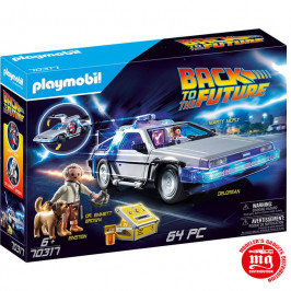 REGRESO AL FUTURO DELOREAN PLAYMOBIL 70317