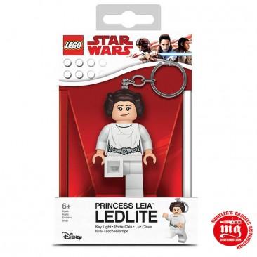 LLAVERO PRINCESA LEIA LEGO STAR WARS CON LUZ LED LEGO LGL-KE109
