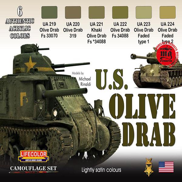 U.S. OLIVE DRAB LIFECOLOR