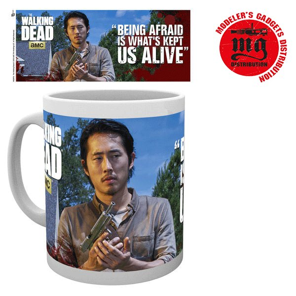 GLENN TAZA THE WALKING DEAD