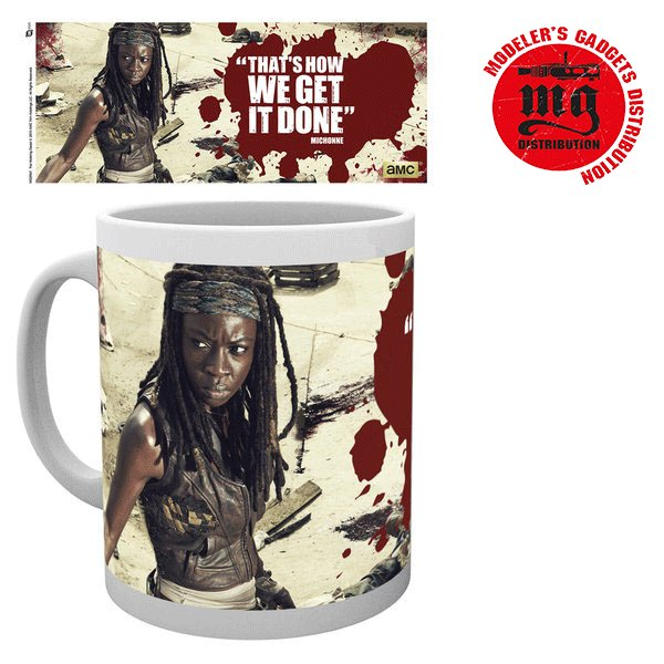 MICHONE TAZA THE WALKING DEAD