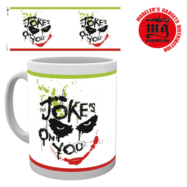 JOKER-ON-YOU TAZA BATMAN DARK KNIGHT THE JOKES ON YOU