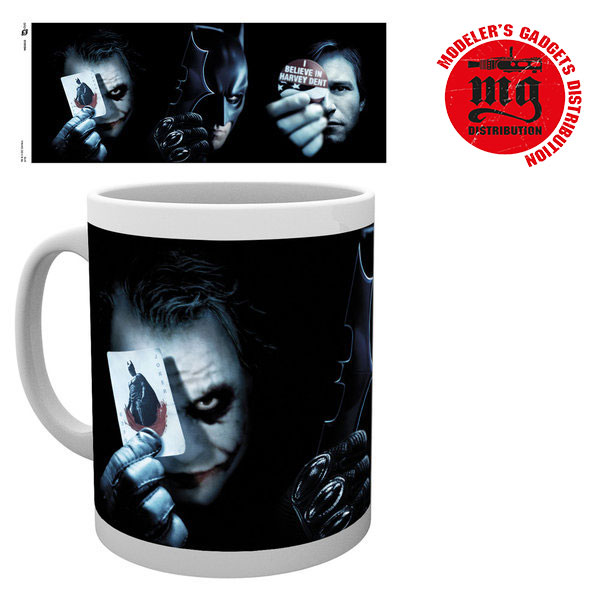JOKER TAZA BATMAN THE DARK KNIGHT