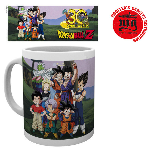 TAZA DRAGON-BALL-30 ANIVERSARIO