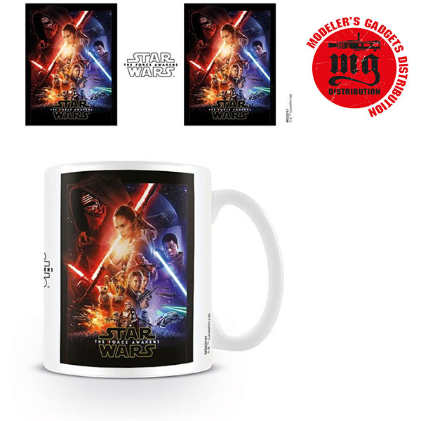 TAZA STAR WARS EPISODIO VII THE FORCE AWAKENS