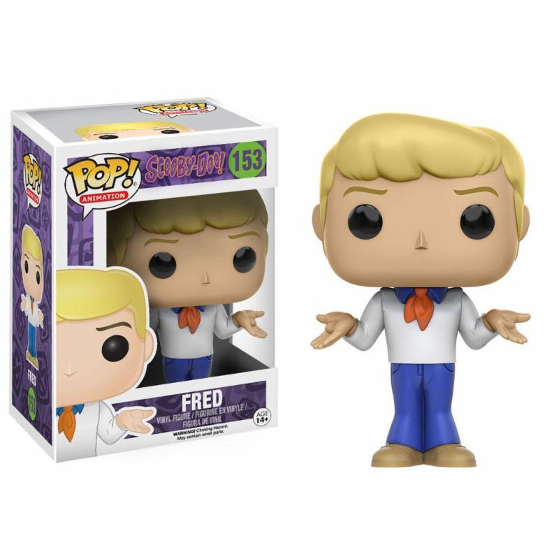 FIGURA FUNKO POP FRED SCOOBY DOO