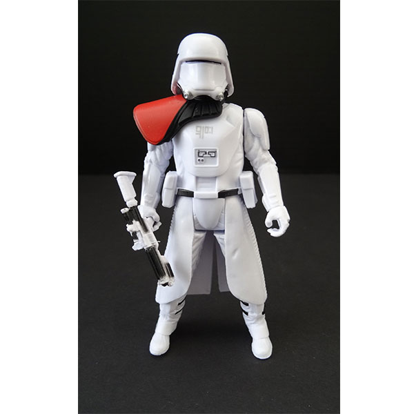 FIGURA SNOWTROOPER FIRST ORDER OFFICER STAR WARS EPISODIO VII