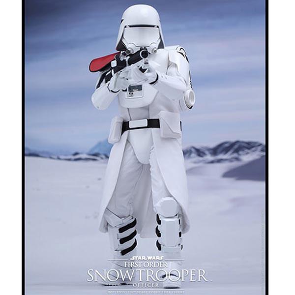 FIGURA SNOWTROOPER FIRST ORDER OFFICER STAR WARS EPISODIO VII