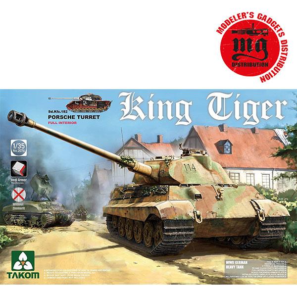 King-Tiger-Porsche