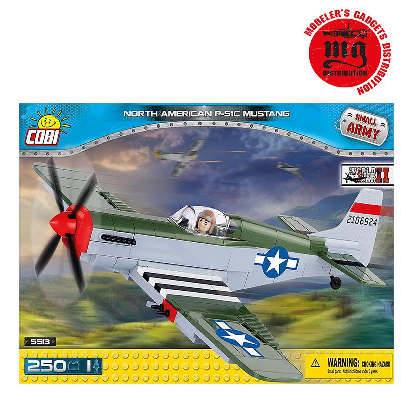 NORTH AMERICAN P-51C MUSTANG COBI 5513
