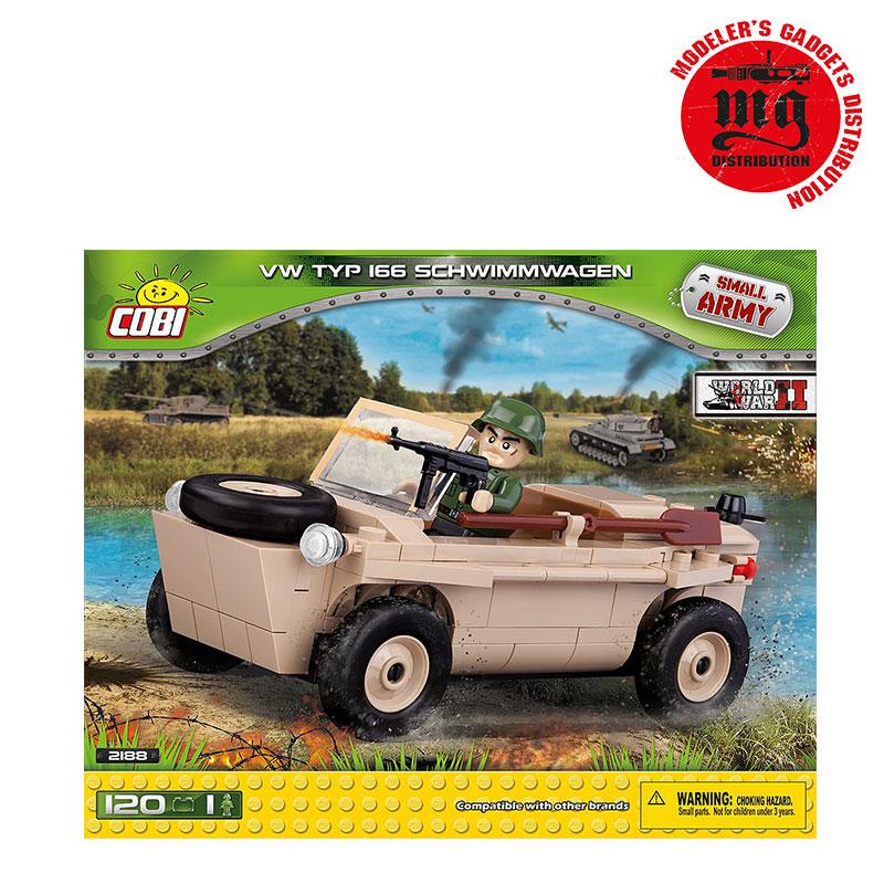VW TYP 166 SCHWIMMWAGEN COBI 2186