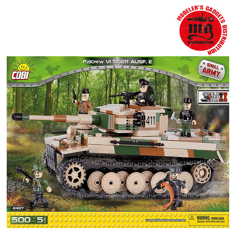 PzKpfw VI TIGER AUSF.E COBI 2487