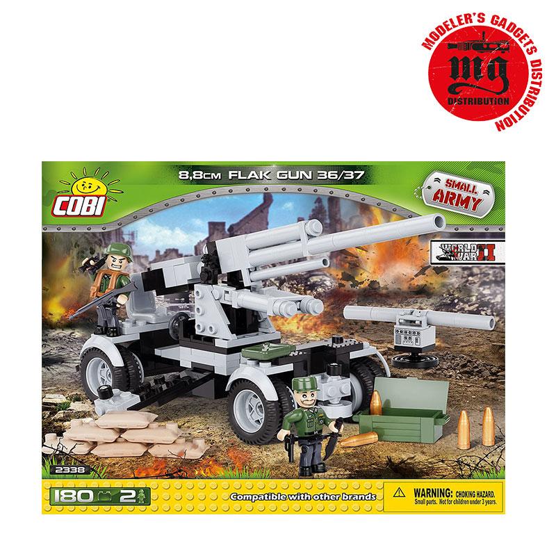 8,8 CM FLAK GUN  36/37 COBI 2338