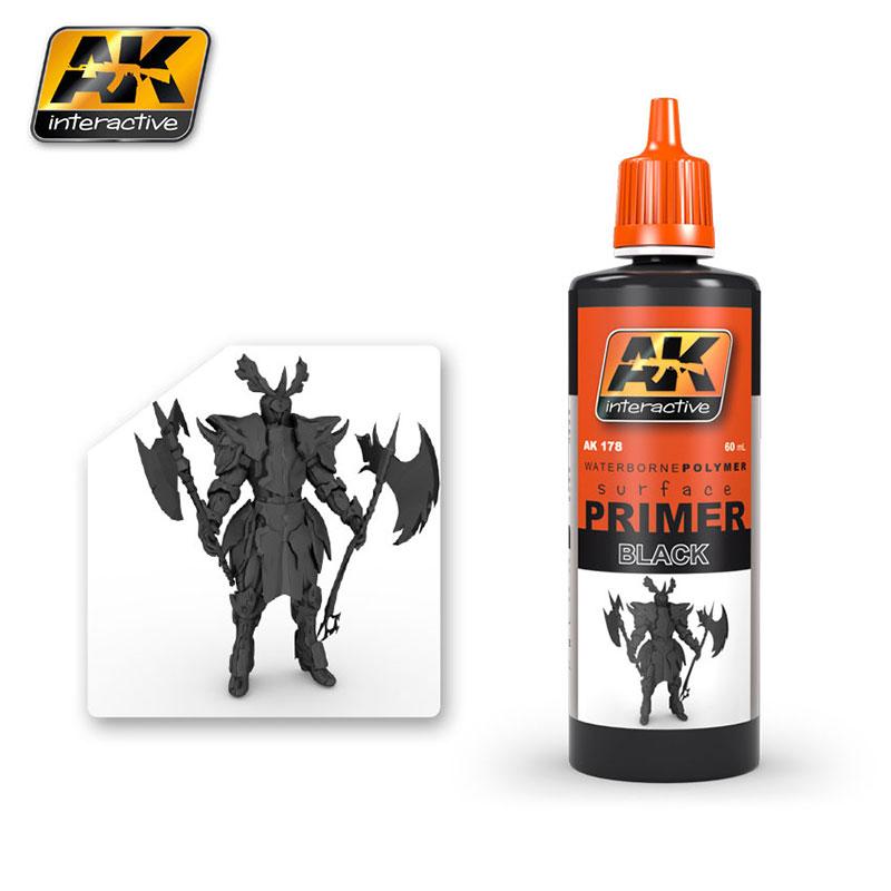PRIMER BLACK 60ML AK AK178