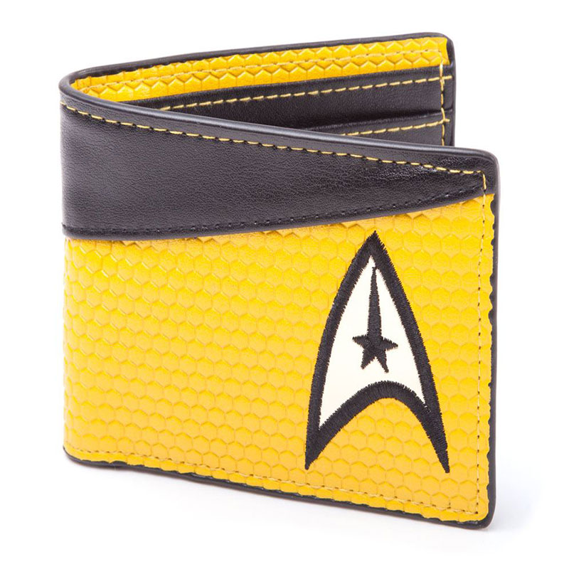MONEDERO STAR TREK LOGO AMARILLO