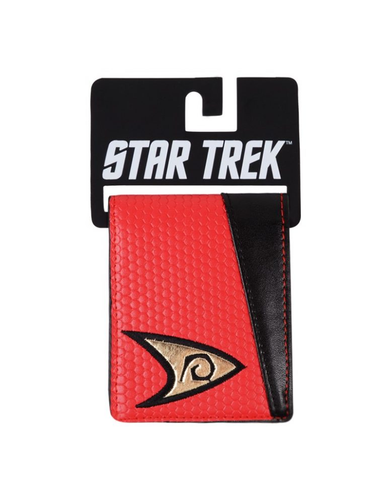 CARTERA STAR TREK ROJA