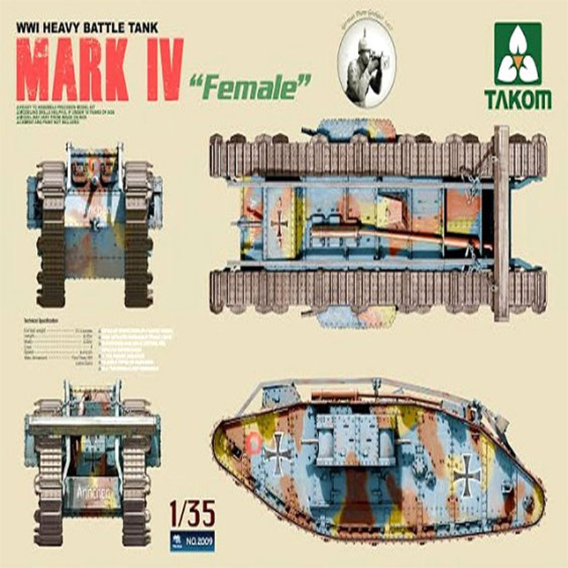 MARK-IV-FEMALE-WWI-HEAVY-BATTLE-TANK