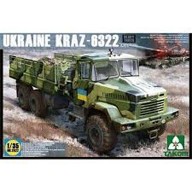 UKRAINE-KRAZ-6322