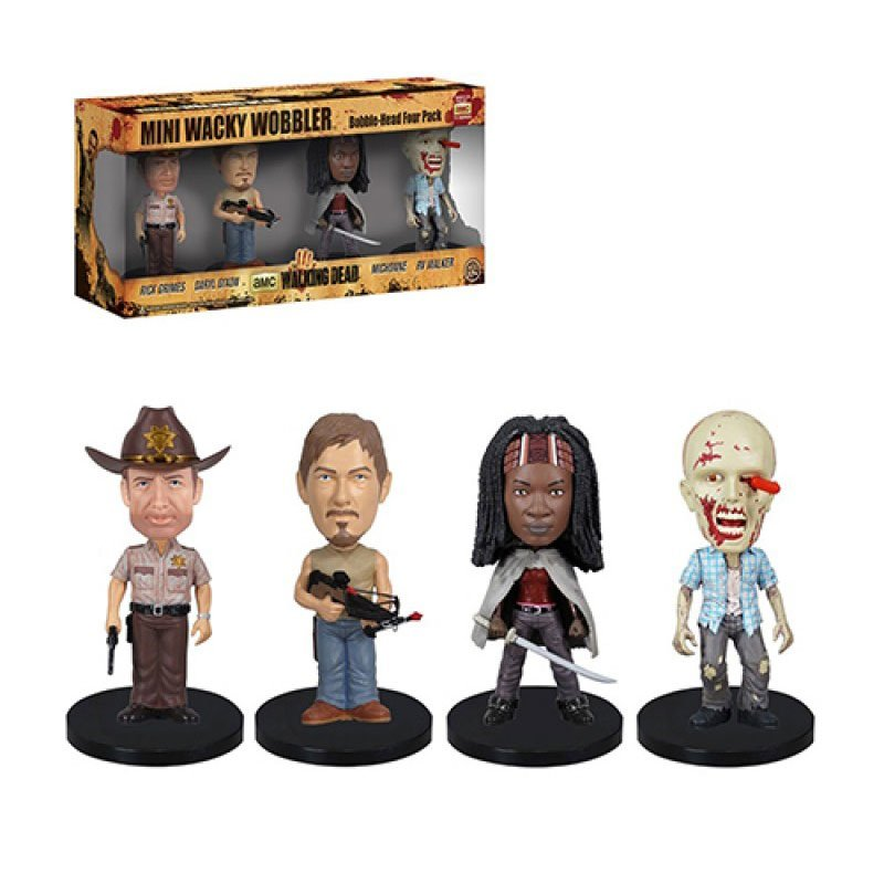 WALKING-DEAD-PACK-DE-4-CABEZONES