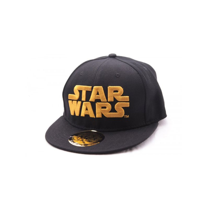 STAR-WARS-GORRA-GOLDEN-LOGO