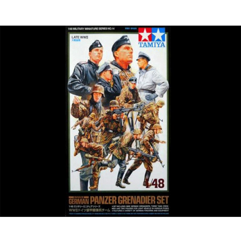 WWII-GERMAN-PANZER-GRENADIER-SET