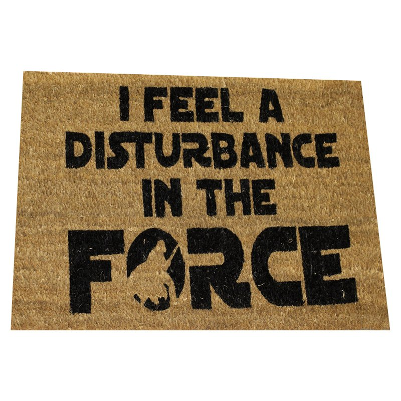 FELPUDO-STAR-WARS-I-FEEL-A-DISTURBANCE-IN-THE-FORCE