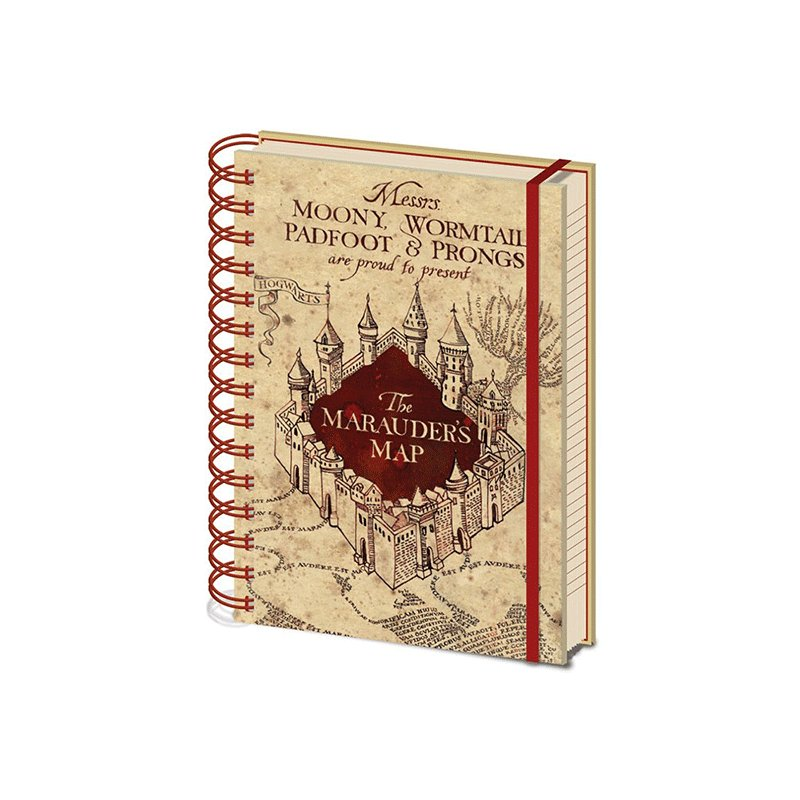 LIBRETA-HARRY-POTTER-THE-MARAUDER'S-MAP