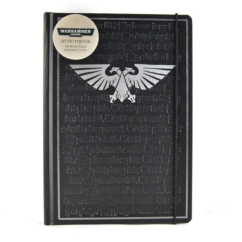 LIBRETA-WARHAMMER-PLEDGE WARHAMMER 40000