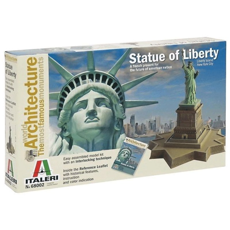 STATUE--OF-LIBERTY-WORLD-ARCHITECTURE-THE-MOST-FAMOUS-MONUMENTS-ITALERI 68002