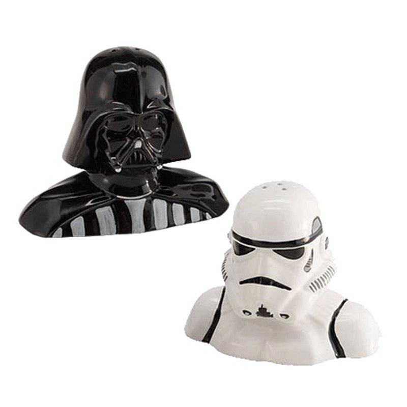 SALERO-Y-PIMENTERO-DARTH-VADER-Y-STORMTROOPER-STAR-WARS