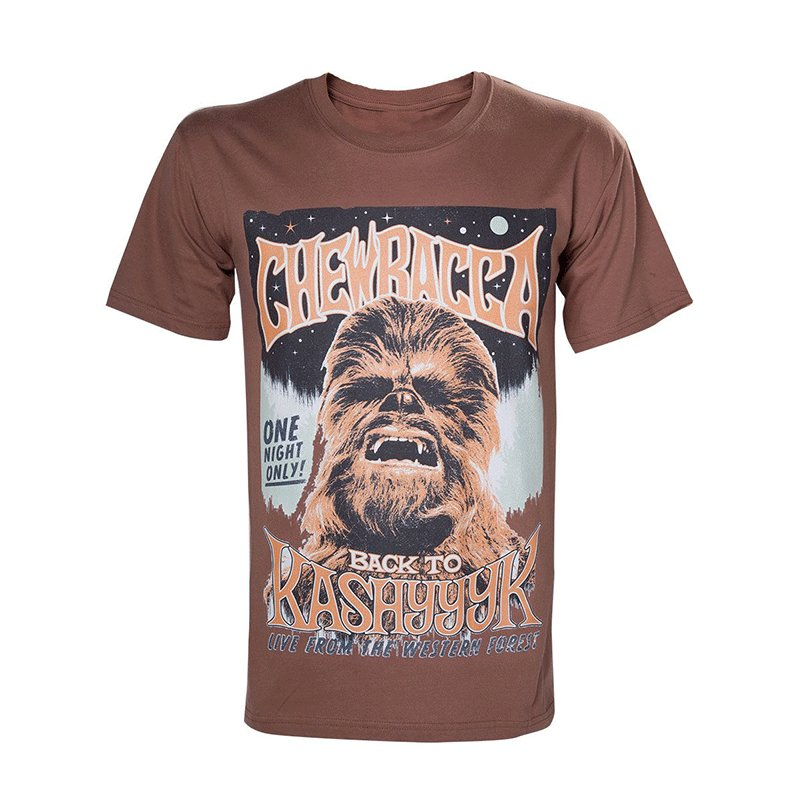 CAMISETA-CHEWBACCA-STAR-WARS-TALLA-XL