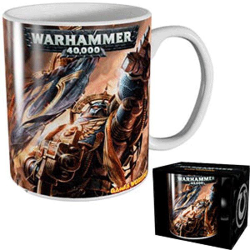TAZA-WARHAMMER-ULTRAMARINES WARHAMMER 40000