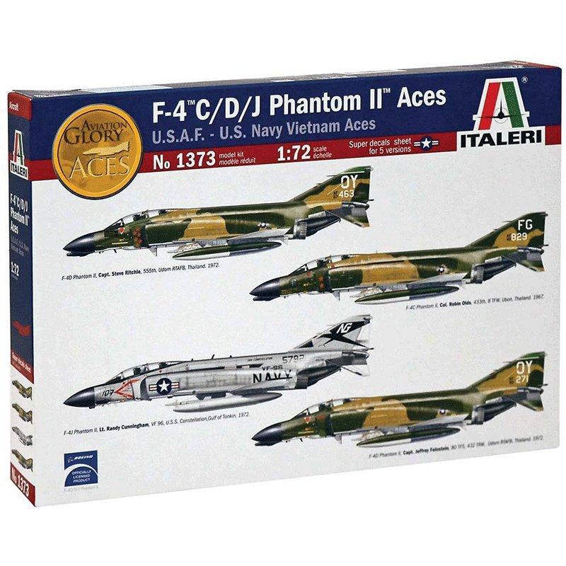 F-4-C-D-J-PHANTOM-II-ACES-U.S.A.F--U.S.-NAVY-VIETNAM-ACES