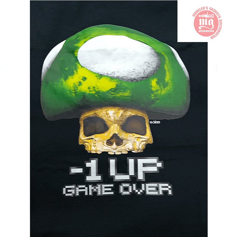 CAMISETA-REALIDAD-AUMENTADA-GAME-OVER