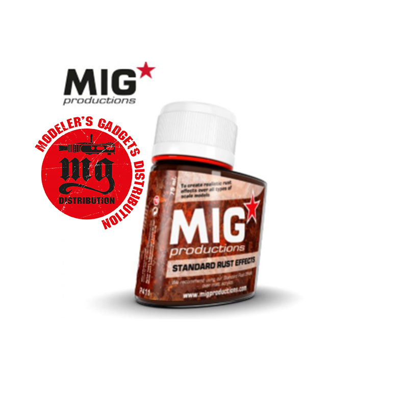 STANDARD-RUST-EFFECTS MIG PRODUTIONS P411