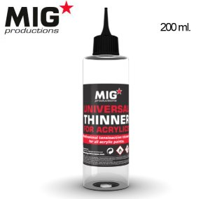 UNIVERSAL THINNER FOR ACRYLICS MIG PRODUCTIONS P263