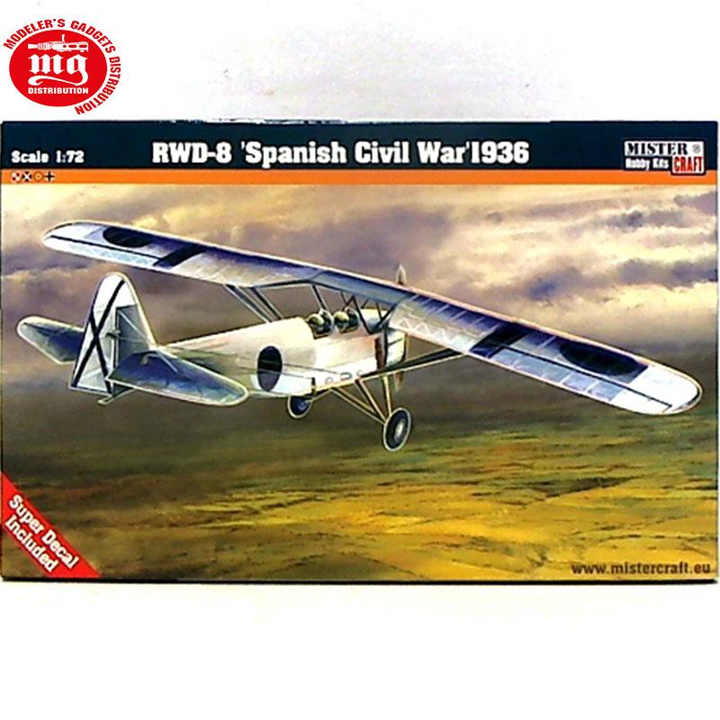 RWD-8-SPANISH-CIVIL-WAR-1936 MISTERCRAFT 020460