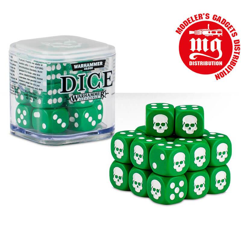 DICE-CUBE-VERDE