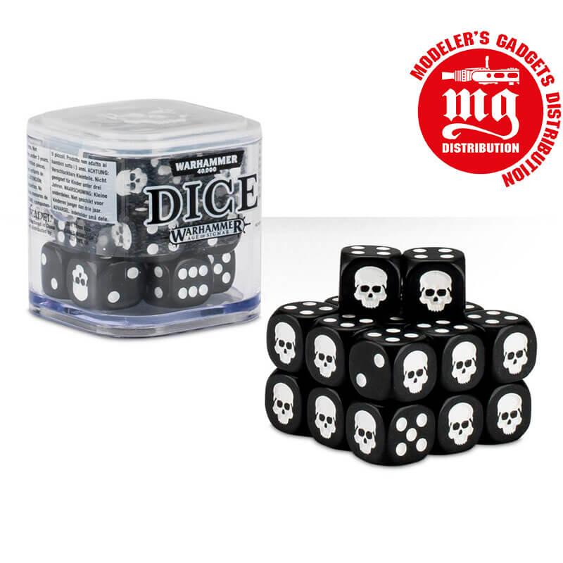 DICE-CUBE-NEGRO