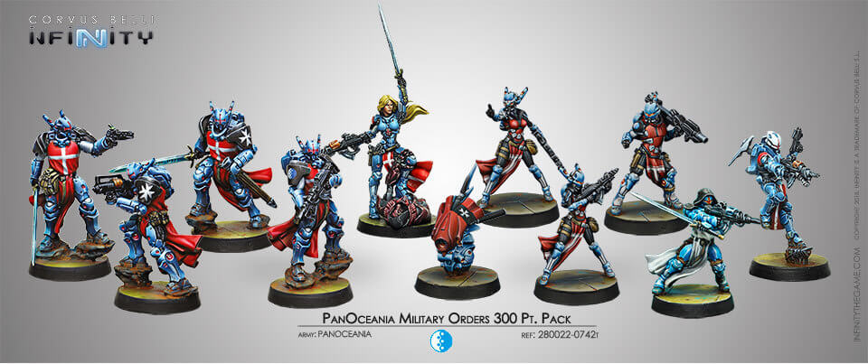 PANOCEANIA MILITARY ORDERS 300 PT PACK