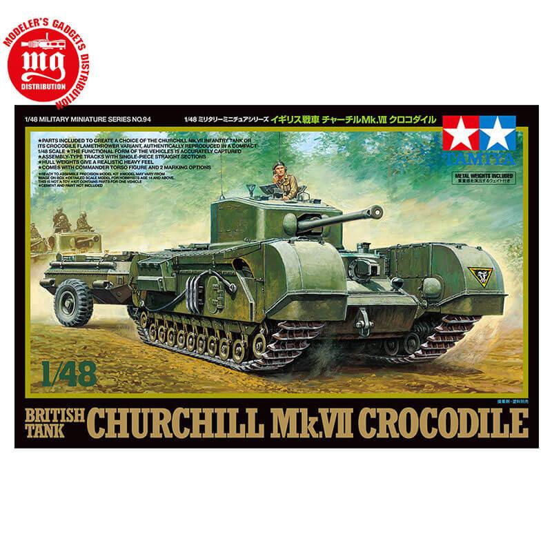 BRITISH-TANK-CHURCHILL-Mk-VII-CROCODILE
