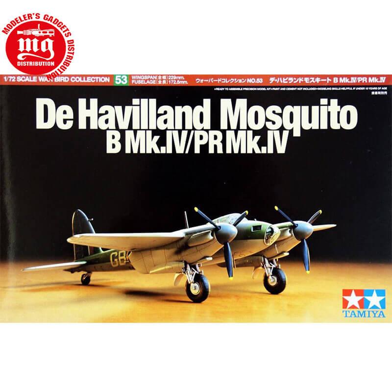 DE-HAVILLAND-MOSQUITO-B-Mk-IV-PR-Mk-IV TAMIYA 60753