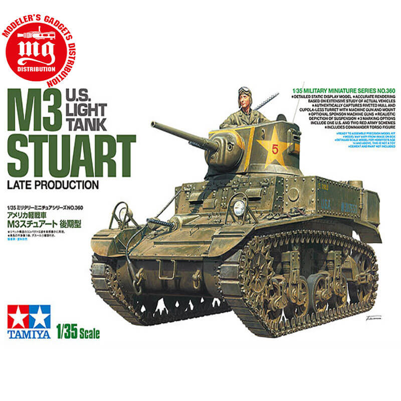 US-LIGHT-TANK-M3-STUART-LATE-PRODUCTION