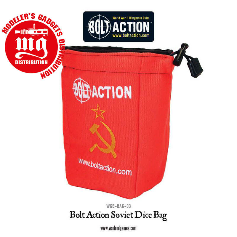 BOLT-ACTION-SOVIET-DICE-BAG-AND-DICE-RED